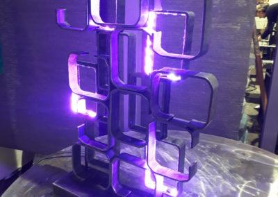 Lampada led ferro