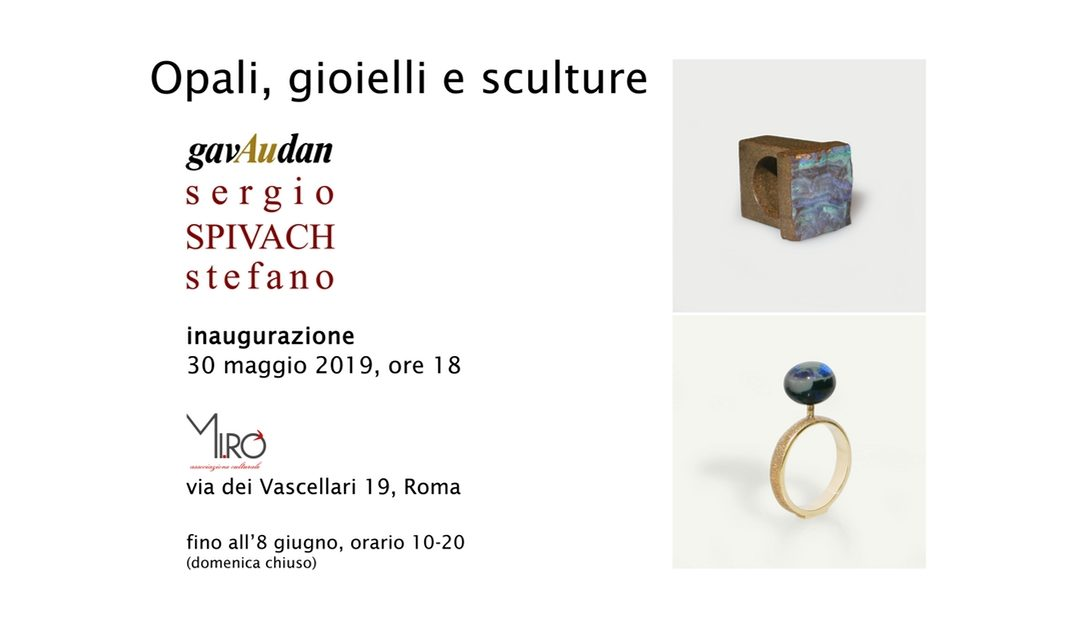 Opali, gioielli e sculture